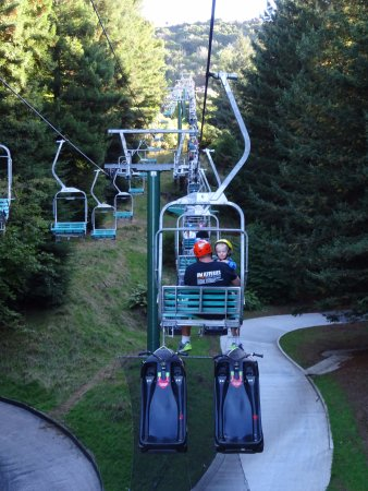 Skyline Rotorua Chairlift After The Luge