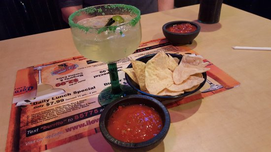 Clearfield, UT: Chips, salsa and margarita