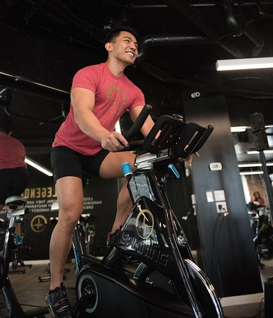 Burnaby, Canada: Find someone who cares about your meniscus like a Spin City trainer does.