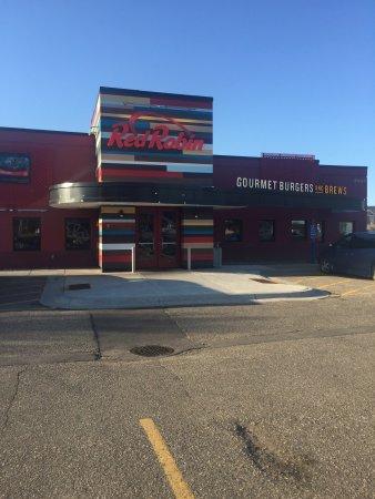 Saint Cloud, MN: Entrance exterior view.