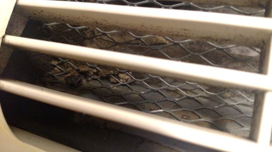 Holiday Inn Express Hotel & Suites Dubuque-West: Junk/mold in the HVAC unit...