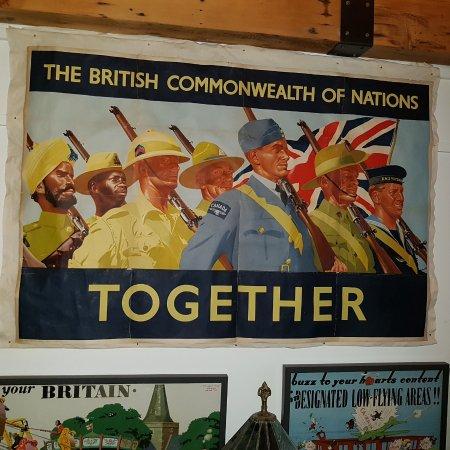 Blue Mountains, Canada: World War II Poster
