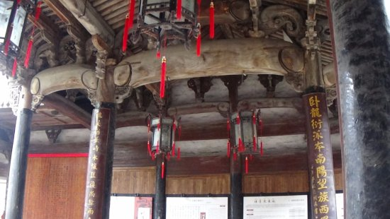 Lanxi, Chine : Ancient beams