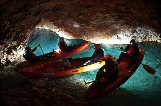 Kayaking Day Activity in Underground...