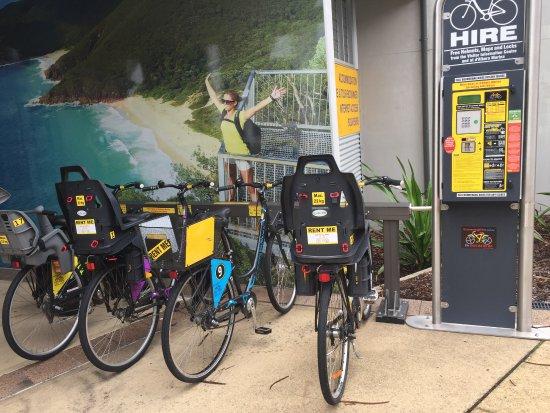 Bike hire Nelson Bay