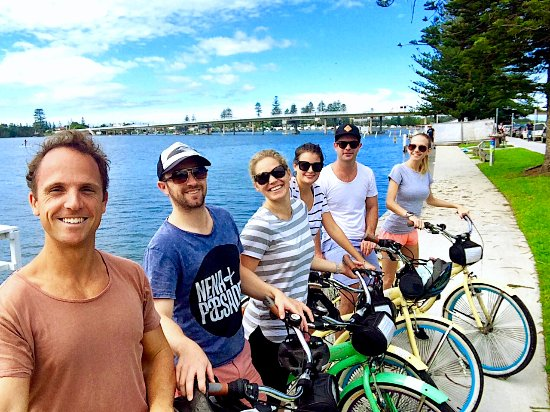 Nelson Bay, Australia: bike hire for groups