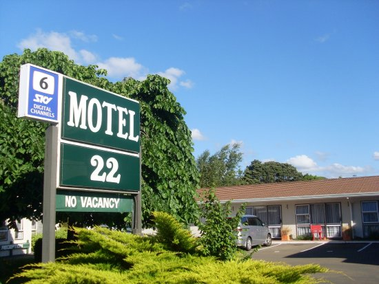 Entrance - Picture of Motel 22, Lower Hutt - Tripadvisor