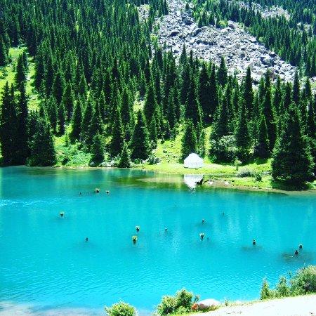Cholpon Ata, Kirguistán: Святое озеро