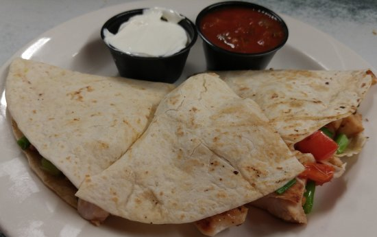 Ste. Anne, Kanada: best Chicken quesidillas around