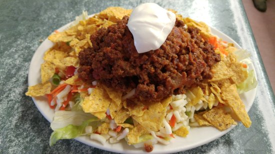 Ste. Anne, Canadá: taco salad