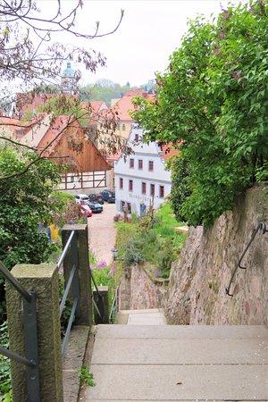 Meissen, Germany: Amtsstufen am Burgberg