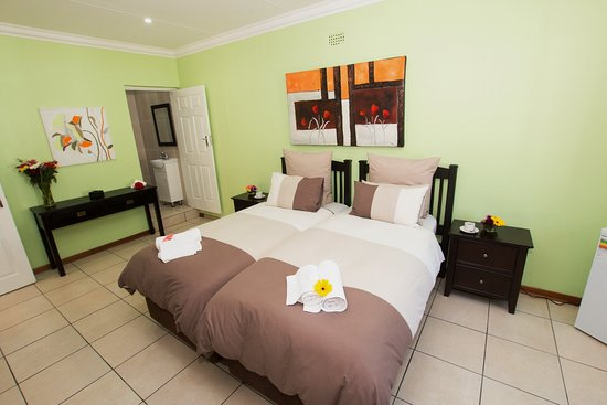Benoni, Sydafrika: Twin Room
