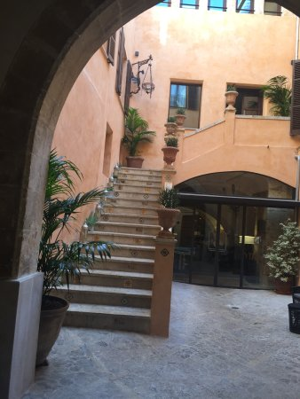 Posada Terra Santa: Hotel Eingang