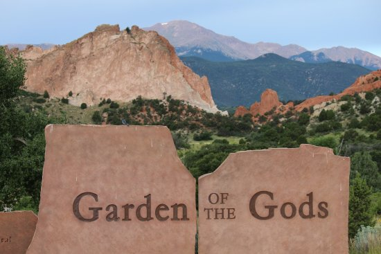 Picture Of Garden Of The Gods Colorado