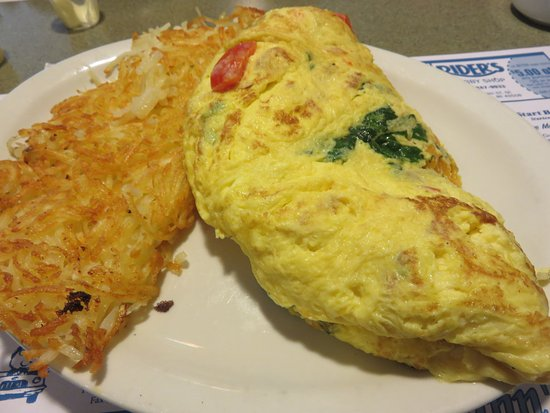 Coopersville, MI: A side of hash browns with my omelet for $2.10