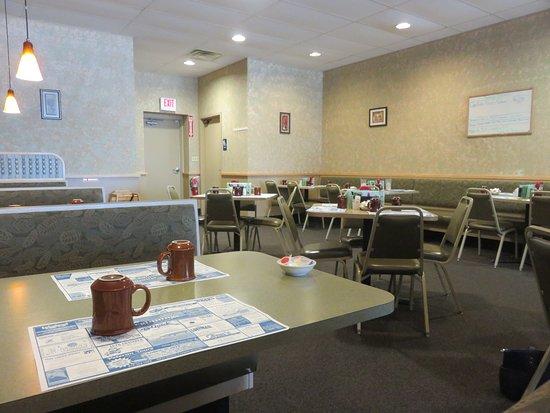 Coopersville, MI: Diner style ambiance