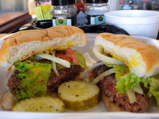 Troutville, فيرجينيا: Classic Burger