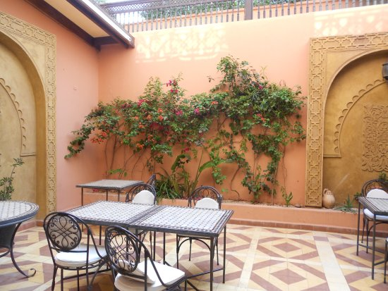 Zalagh Kasbah Hotel and Spa : Here you can eat your breakfast/diner