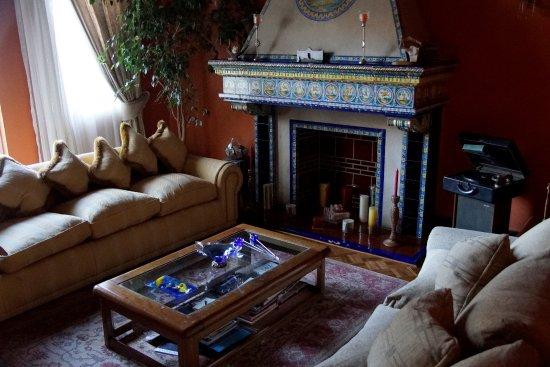 Grosszugiger Aufenthaltsraum Wie Ein Wohnzimmer Sehr Schon