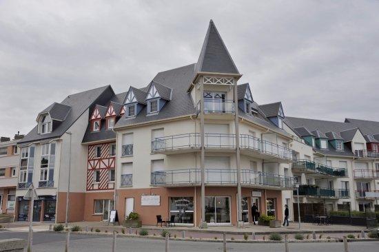 Criel-sur-Mer, Prancis: depuis la plage