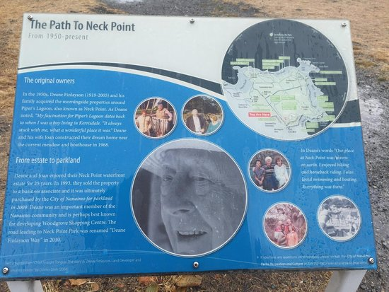 Nanaimo, Canadá: The Path To Neck Point
