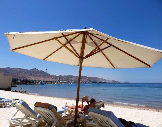 Kempinski Hotel Aqaba Red Sea: The hotel beach