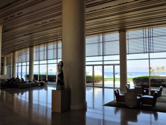 Kempinski Hotel Aqaba Red Sea: Hotel reception area