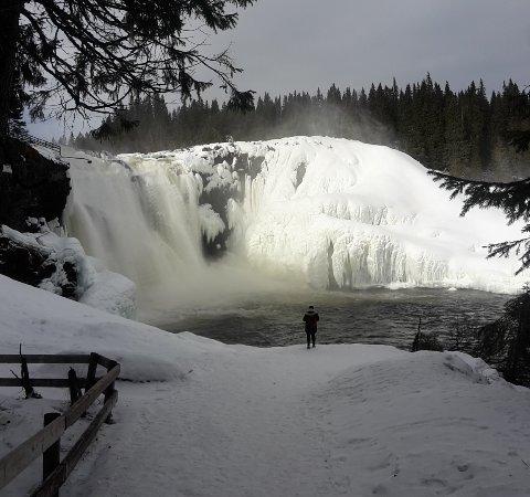 Duved, Σουηδία: Atemberaubendes Naturschauspiel