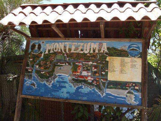 Karte von Montezuma.