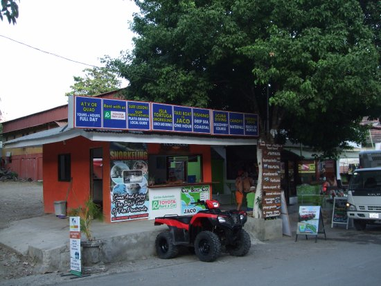 Montezuma, Costa Rica: Info Shop.