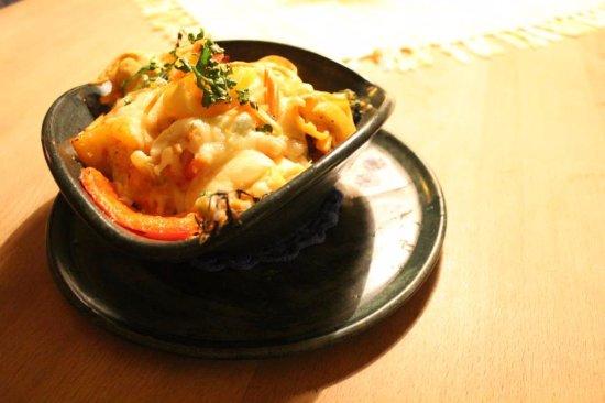 Restaurant Kornblume: Gefüllte Käsetortellini überbacken, einfach lecker und sehr nettes Personal