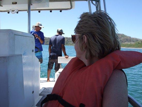 Montezuma, Costa Rica: Auf der Bootstour.