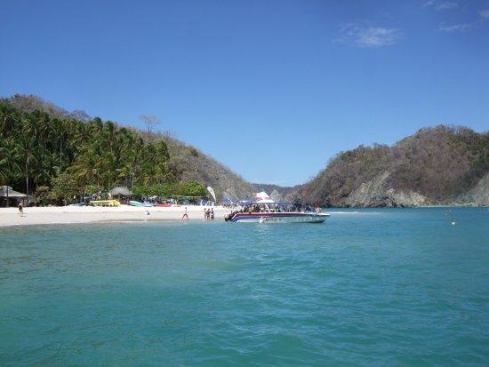 Montezuma, Costa Rica: Stop auf einer Insel.