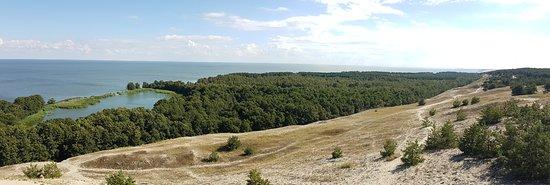 Morskoye, Rusia: панорама озера со смотровой площадки