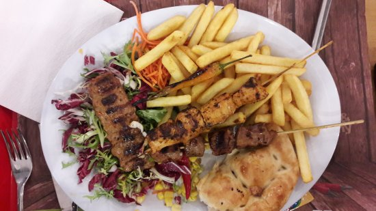 Good Food On Parterre Of Mosque Review Of Kebap Factory Utrecht The Netherlands Tripadvisor