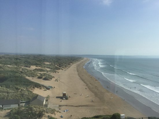 Braunton, UK: View from Room 227