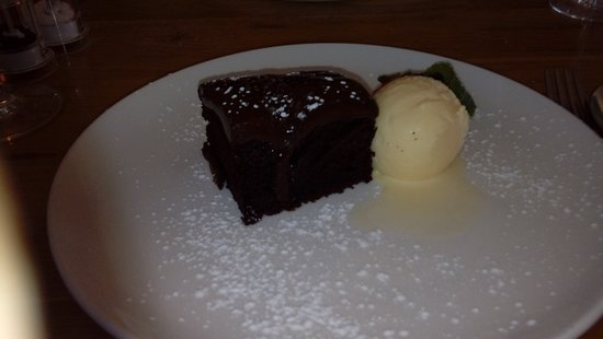 Walkden, UK: chocolate cake