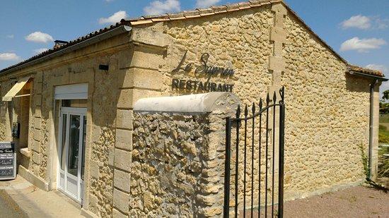 Sauternes, France: Entrée