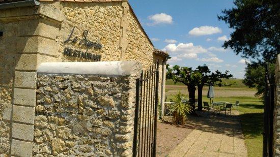 Sauternes, France: Vue sur la terasse