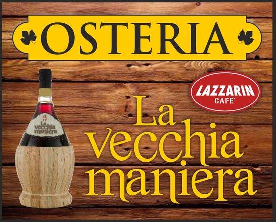 Pertegada, Italy: Vi presentiamo il logo dell' osteria.