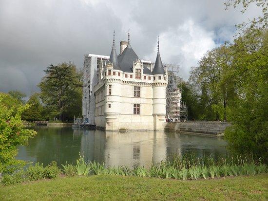 castillo y foso picture of chateau of azay le rideau azay le rideau tripadvisor