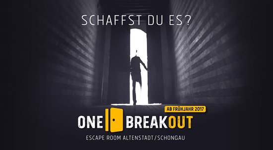 Altenstadt, Alemanha: ONE BREAKOUT Escape Room