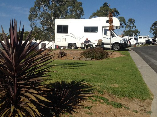 Hahndorf, Australia: Motorhome on site