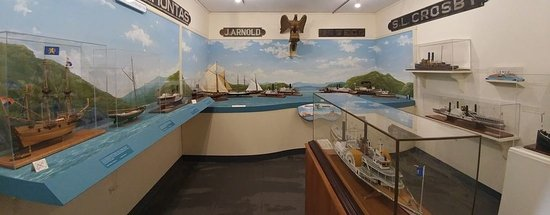 Kingston, NY: Ship Models Exhibit