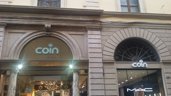 Coin department stores florence italy what to know for Coin firenze
