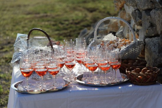 Petrcane, Croacia: Rose wine
