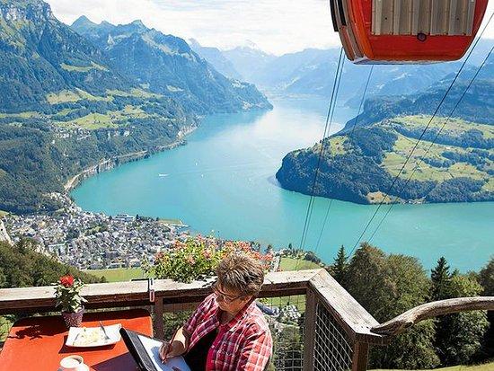 Brunnen, Schweiz: Ich schreibe da gerne