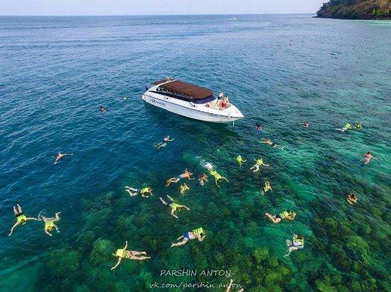 top view snockel picture of jp andaman tour phuket town tripadvisor
