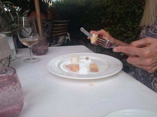 Le Rouret, França: das Auge isst mit  ;-))