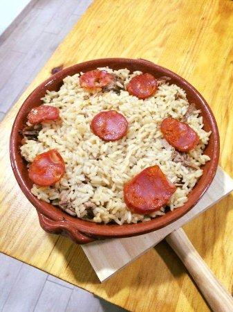 Linho, Portugal: Arroz de pato (prato do dia)